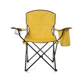 Padded Arm Chair with Cooler - Yellow
