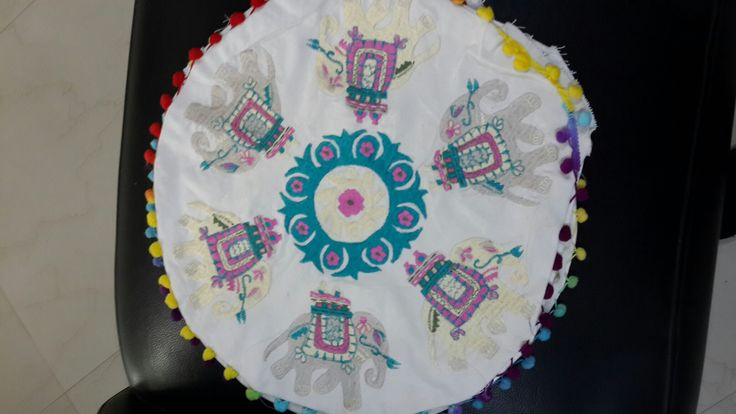 Cushion covers with filled