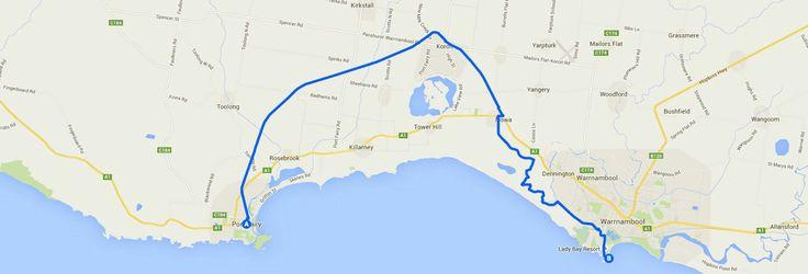 Rail Trail Port Fairy, Koroit, Warrnambool, Victoria Australia
