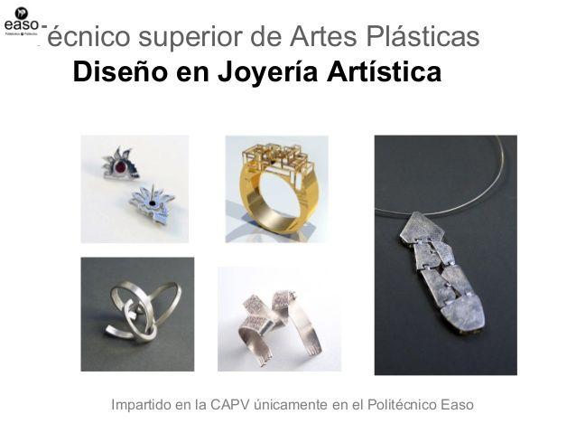 Ciclo superior de Diseño en joyería artística