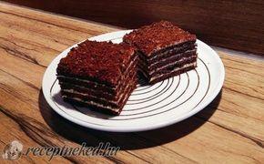 Csokis-diós marlenka recept fotóval