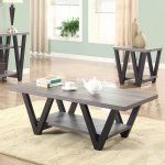 Coaster Furniture Wood Coffee Table with Shelf - Antique Gray - Enhance the elegance of your décor with the Coaster Furniture Wood Coffee Table with Shelf - Antique Gray . Its antique gray finish will bring...