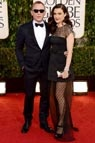 Premios Globo de Oro 2013. Rachel Weisz y Daniel Craig #celebritystyle #redcarpet