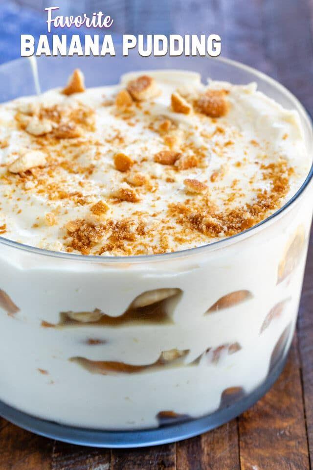 Favorite Banana Pudding Recipe Crazy For Crust Recipe Banana Pudding Banana Pudding Recipes Sweetened Condensed Milk Recipes