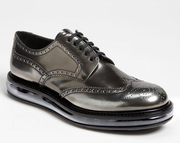 Chaussures De Sport De Chaussures Oxford - Prada Noir Voir Frais De Port Offerts Hr6ceim