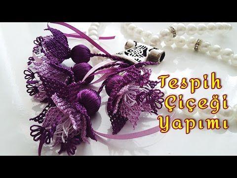 Tespih Çiçeği Yapımı - YouTube