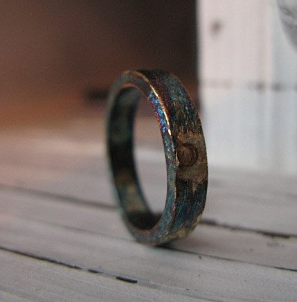 Lovely Mens Wedding Band by HotRoxCustomJewelry on Etsy