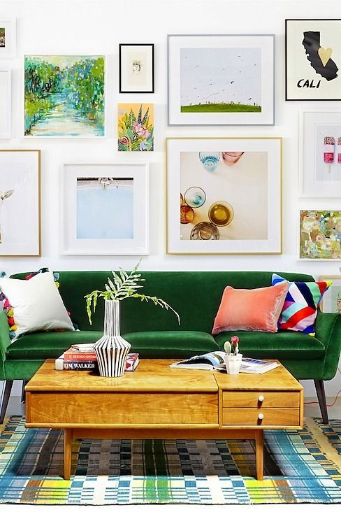 Hanging A Stunning Gallery Wall, Demystified
