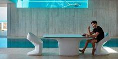 Tavolo di design esterno : collezione UFO