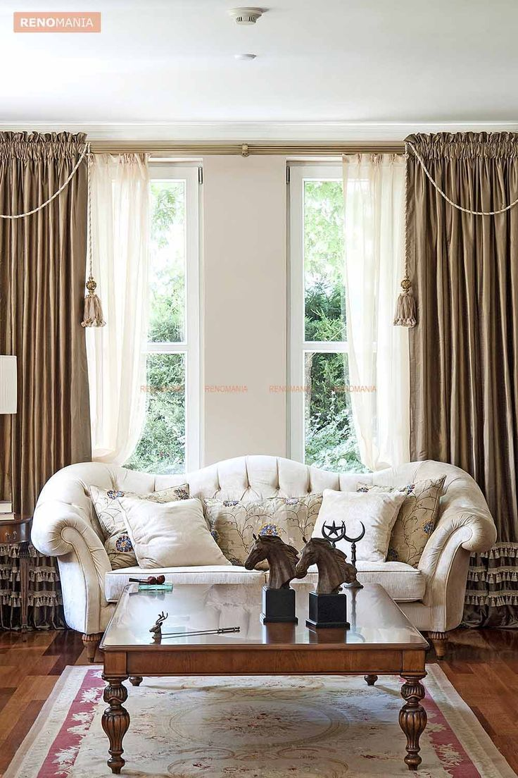 35 best Living Room Curtains images on Pinterest | Curtains living ...