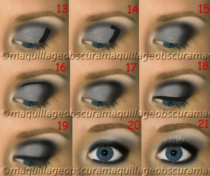 how to put makeup on our eyes