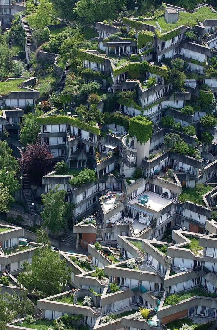 Jean Renaudie's Housing Complex in Ivry Sur Seine, Paris | Incredible Pictures
