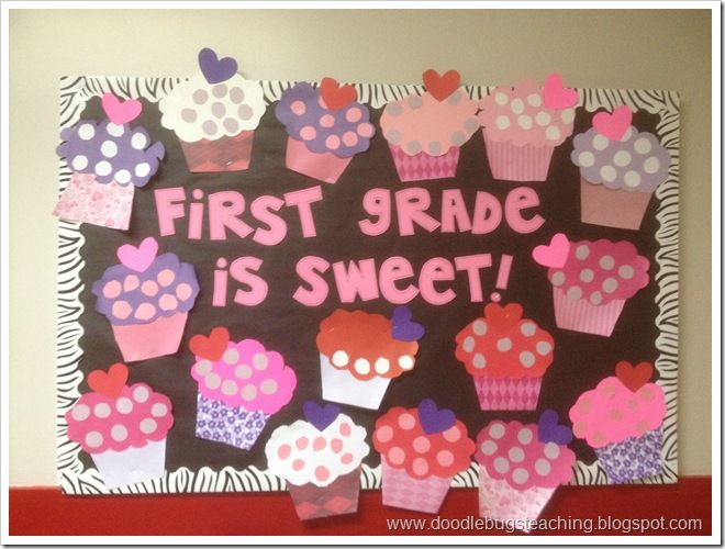 Cupcakes: write -I am sweet because