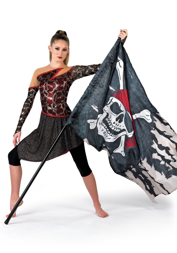 I want to do a pirates of the Caribian theme marching band!!!