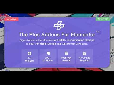 The Plus v1 3 2 – Addon for Elementor Nulled | WordPress