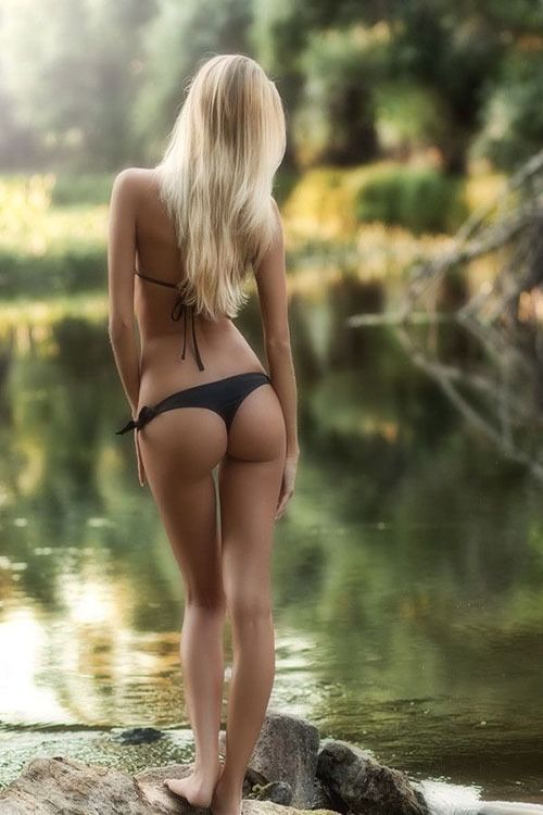 Ass blonde nice perfect