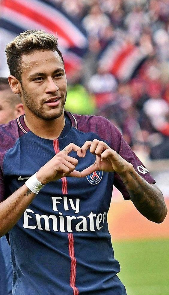 Neymar da Silva Santos Júnior, commonly known as Neymar or Neymar Jr., is a Brazilian professional footballer who plays as a forward for French club Paris Saint-Germain and the Brazil national team Born: 5 February 1992 (age 25), Height: 1.75 m Salary: 9.18 million EUR (2016) Current teams: Paris Saint-Germain F.C. (#10 / Forward), Brazil national football team (#10 / Forward) Did you know: Neymar has the world's third-largest sports contract ($270,000,000, with the Paris Saint Germain)