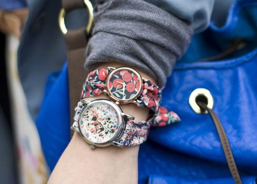Liberty of London watch bands    So perfect for spring!