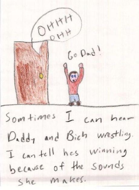 Always hilarious...28 kids drawings