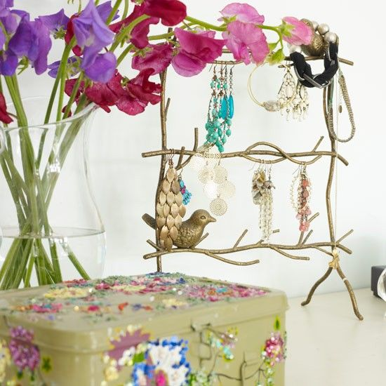 Twiggy inspiration: Dressing table gorgeousness