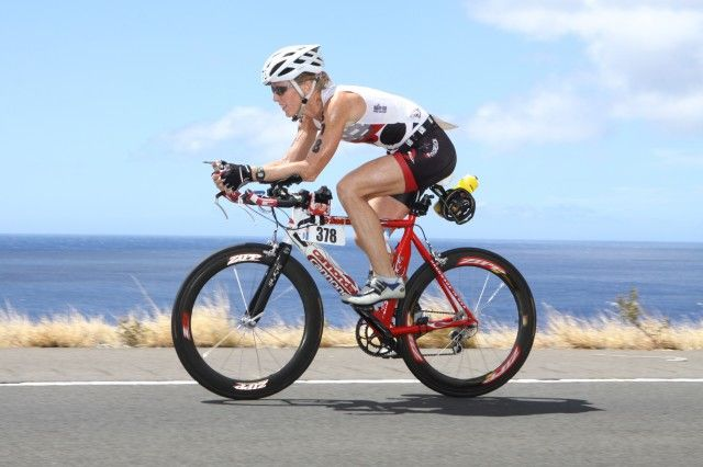 Susan Wallis, triathlete.