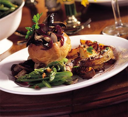 Wild Mushroom & Port Brioche - perfect for vegetarians, but I would use vegetable oil to make mine vegan! @Hannah Van Vlack