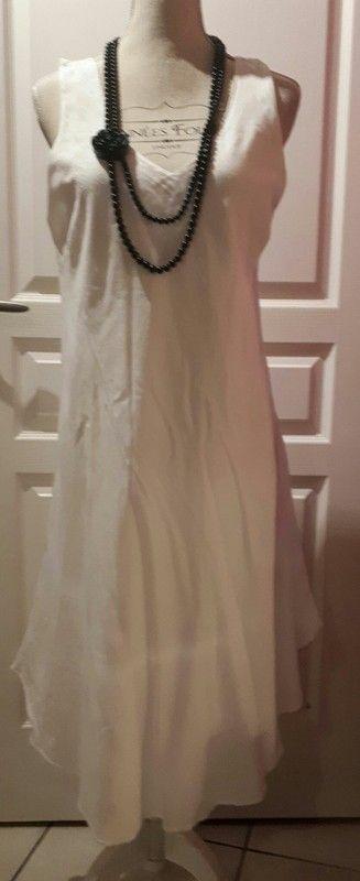 cf36292f6a9322 Robe Blanc du Nil taille 4 | Vinted Choupinou83 | Robe femme ete ...