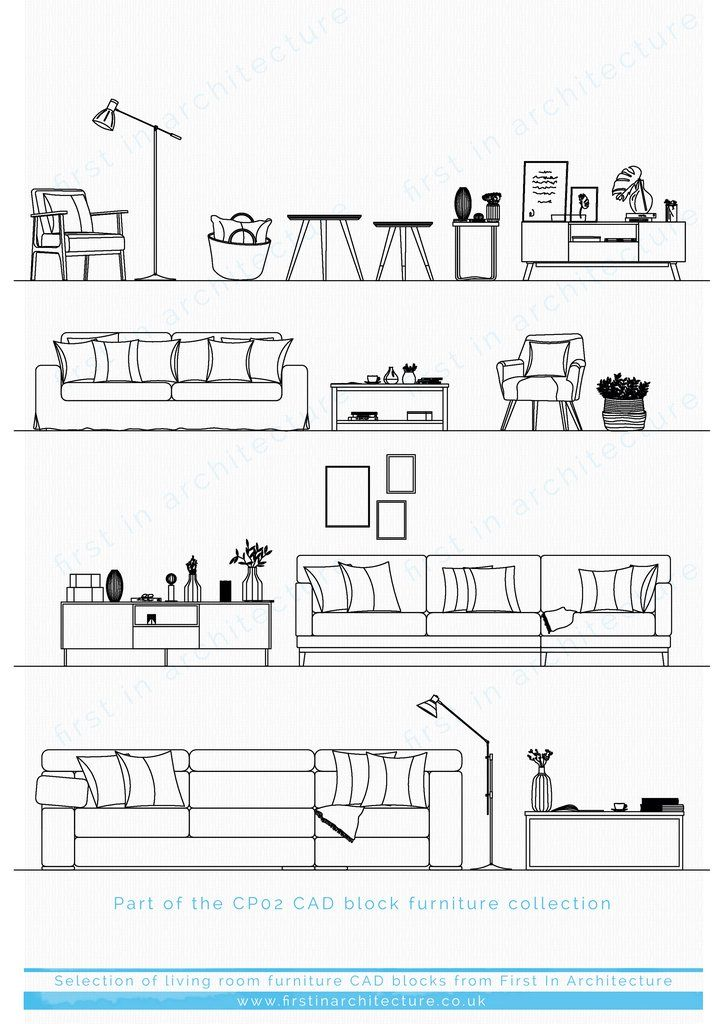 Pin On Architectural Resources Living room elevation cad block
