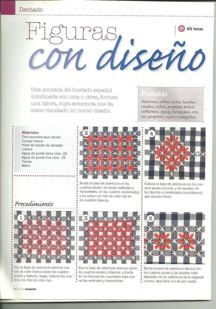 Artesanía, Manualidades, Labores :: Bordado Español
