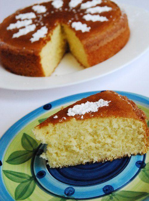 Moist Butter Cake Recipe