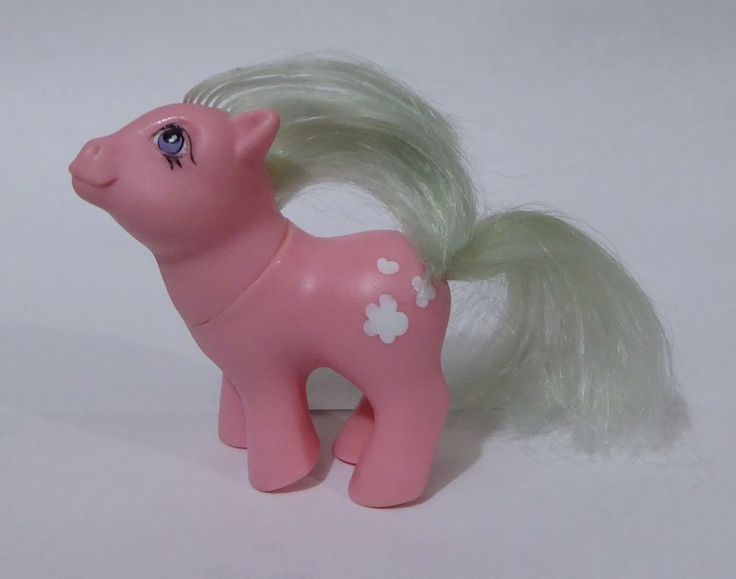 Vintage Baby Cotton Candy.My little pony.G1.Hasbro.BASA.PERU.1980s.