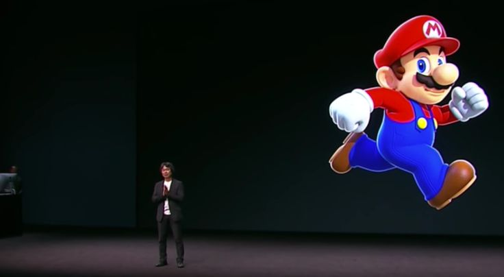 Mario Creator Miyamoto Plays Super Mario Run One-Handed #android #google #smartphones