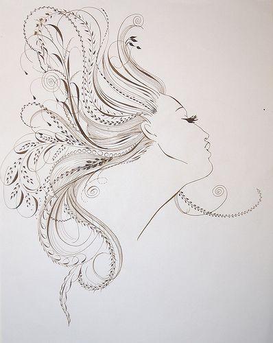 hair-flourishing by Barbara Calzolari, via Flickr