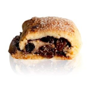 Mini Strudel - A shortbread filled with mixed fruit and nuts, cinnamon, and blackberry jam