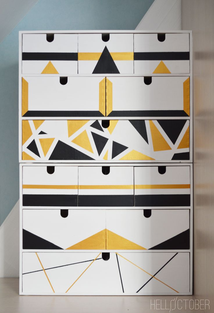 Ikea moppe mini drawers hack