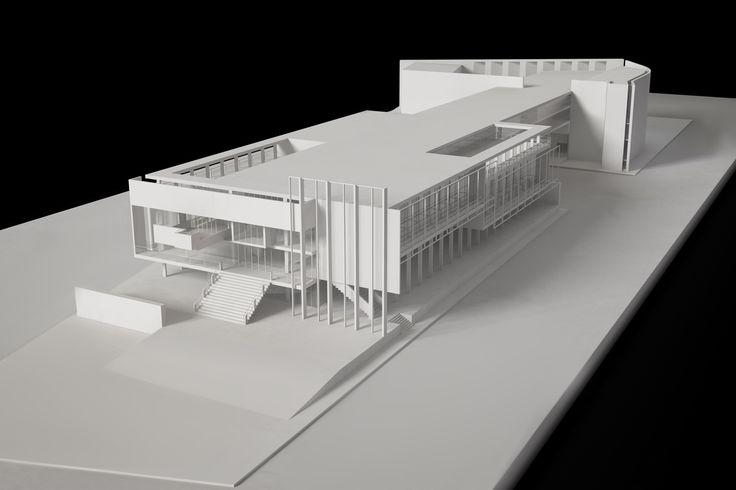 Terragni a Roma, architectural model