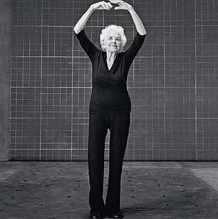 """Esther Tuttle, age 99 How to be confident: Treasure your health every day. """"Your body is your instrument, and you have to take beautiful care of it. I do one hour of yoga and walk for 30 minutes every day. You really enjoy life a lot more if you're healthy. And I never leave home without putting on lipstick—it makes me feel pretty!"""""""