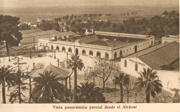 Vista panorámica parcial desde el Alcázar.