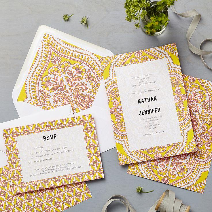 Lucy says I do wedding invitation_madala yellow