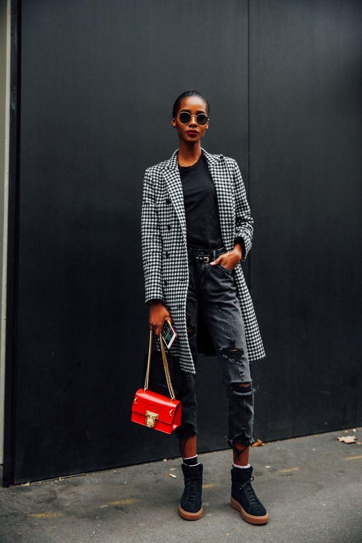 Tutti gli outfit e look di street style avvistati alla New York Fashion Week Autunno Inverno 2018 2019