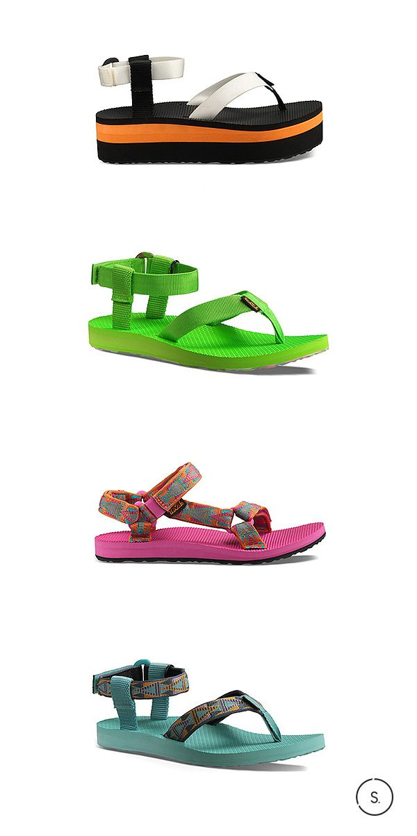 The Teva Original comes in a range of mouthwatering candy colors this summer. Pick your pair fresh off SHOES.com today.