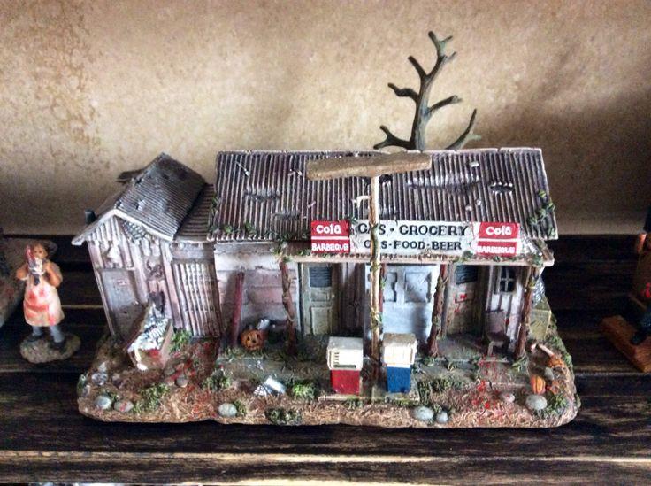 Find Me A Gas Station >> Hawthorne village of horror. Texas chainsaw massacre gas station | Junk drawer | Pinterest ...
