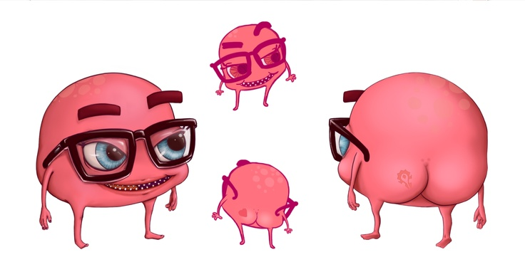 It's me!!. character desing for www.mgs.mx  . Magic Gate Studios