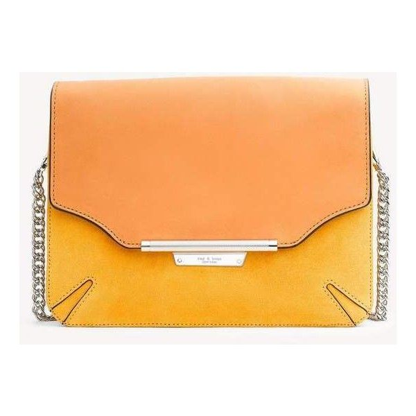 Moto Clutch Bag (£380) ❤ liked on Polyvore featuring bags, handbags, clutches, marigold, red handbags, real leather handbags, genuine leather handbags, red clutches and leather purses