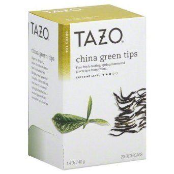 Tazo green tea tips