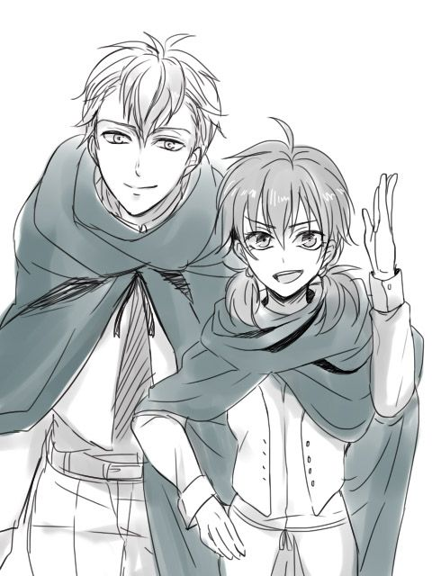 isabel and farlan from shingeki no kyojin - a choice with no regrets #anime