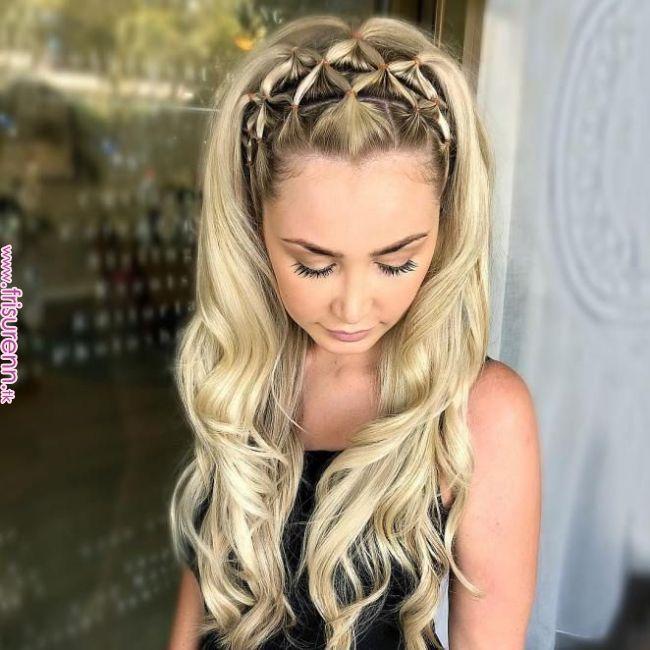 74 Trendy Frisuren, die Sie ausprobieren sollten – coole einfache Frisuren, Sommerfrisuren # Frisuren # Haare # Haare # Zöpfe # Zopf