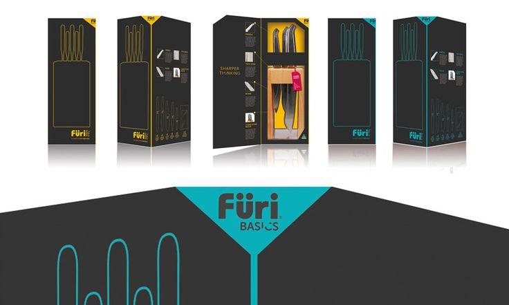 Furi Knives #brand #packaging by #Iconika