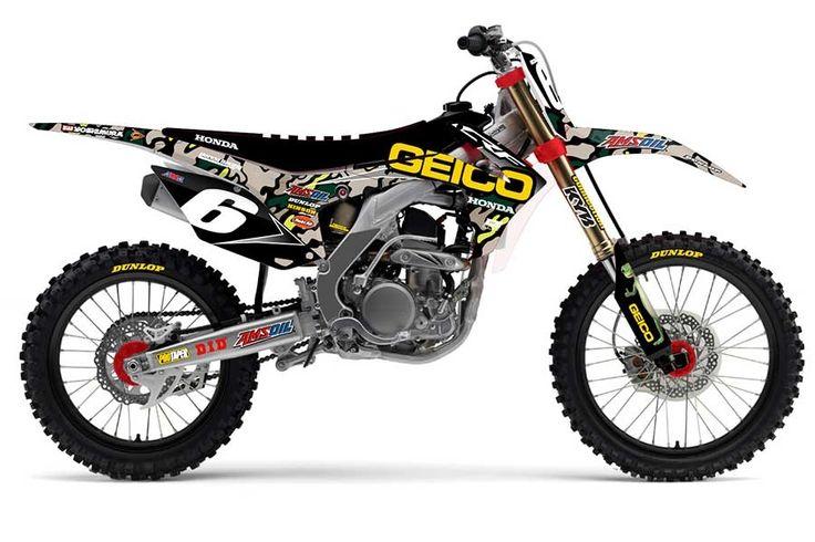 D'Cor Visuals GEICO Honda Team Camo Replica.  www.itlcanada.com