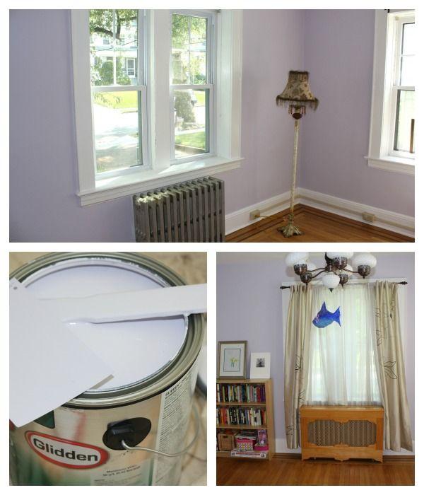 Long Lasting Exterior House Paint Colors Ideas: Glidden Lavender Cloud